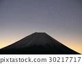 모토스 호반 · 竜ヶ岳에서 보는 새벽의 후지산 30217717