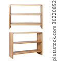 Wooden Rack front and side 30220852