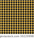Vector black and gold square seamless pattern 30220998
