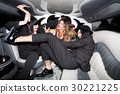 People having party in limo 30221225