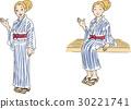 浴衣 人 人物 30221741