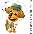 funny yellow dog 30224906
