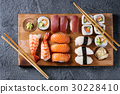 Sushi Set nigiri and rolls 30228410