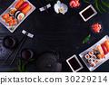 Japanese sushi dish 30229214