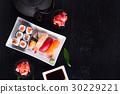 Japanese sushi dish 30229221
