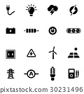 ไฟฟ้า,ไอคอน,อำนาจ 30231496