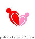 people logo in heart shape.  30233854