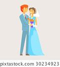 couple groom bride 30234923