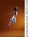 舞蹈 跳舞 赤脚 30242108