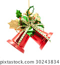 christmas bells isolated on white background 30243834