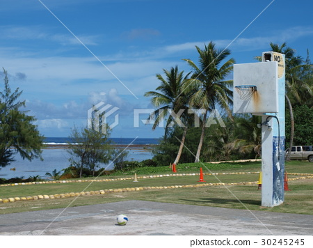 關島的籃球場 30245245