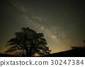 거문고 자리 유성우와 은하수 30247384