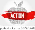 action, apple, cloud 30248548