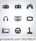 icon, video, vector 30248624