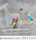 boy, excavator, kid 30253124
