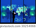 Logistics Import Export background 30254066