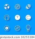 กีฬา,ลูกบอล,เวกเตอร์ 30255384