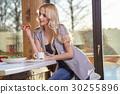 breakfast, women, kitchen 30255896