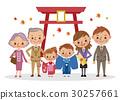 矢量 家庭 家族 30257661