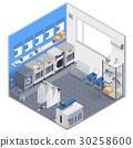 Laundry Isometric Concept 30258600