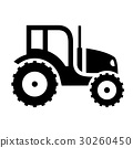 agriculture, pictogram, silhouettes 30260450