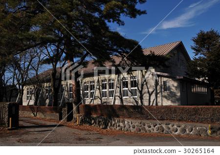 Wooden school building 30265164