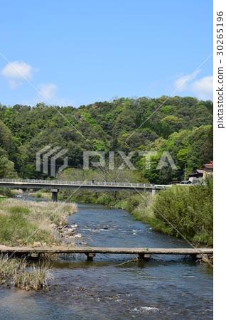 River and bridge 30265196