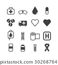 Medical Icons 30268764