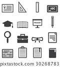Education Icons 30268783