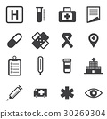Medical Icons 30269304