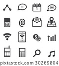 icon mobile phone 30269804