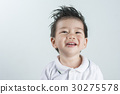 Portrait Asian boy Smile with space for text. 30275578