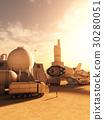 Refuelling Station on a Alien Desert Planet 30280051
