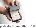 diamond ring in a box 30280230