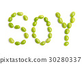 soy with soybeans 30280337
