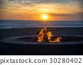 fire on the beach 30280402