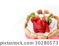 strawberry mousse 30280573