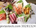 各种各样的生鱼片 30281324