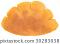 Hand-painted watercolor cream bread 30283038
