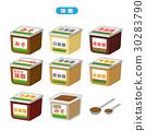 มิโสะ,เครื่องปรุง,วัตถุดิบทำอาหาร 30283790