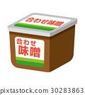 味噌 矢量 发酵食品 30283863