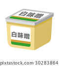 味噌 矢量 发酵食品 30283864