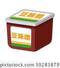 味噌 矢量 发酵食品 30283879
