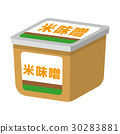 味噌 矢量 发酵食品 30283881