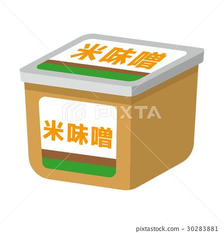 Rice miso [Foodstuff series] 30283881
