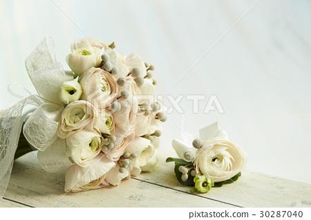 毛茛屬植物 花束 婚禮 30287040