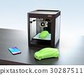 printer, 3d, three 30287511