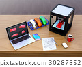 printer, 3d, three 30287852