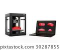 printer, 3d, three 30287855