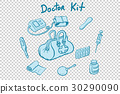 illustration, vector, doctor 30290090